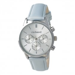 Hodinky s chronografem Madeleine Light Blue
